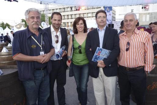Pepe Quiroga, Carlos Gelabert, Cati Morro, Patrik Reynés y Chema Sans.