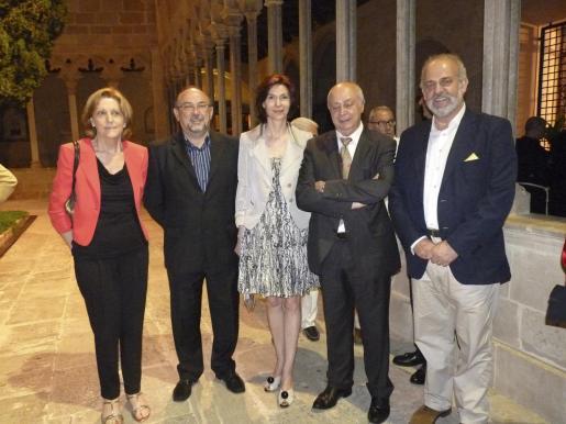 Elvira Badía, Tomeu Llinás, Bel Oliver, Joan Guaita y Albert Moragues.