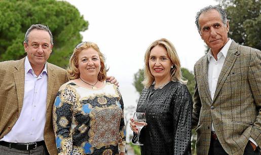 Miguel Rigo, María Socias, Margarita Pizá y Juan Alba.