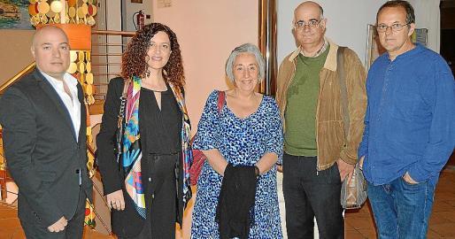 Josep Lluís Aguiló, Catalina Torrens, Ramona Pérez, Lluís Servera y Miquel Àngel Llauger.