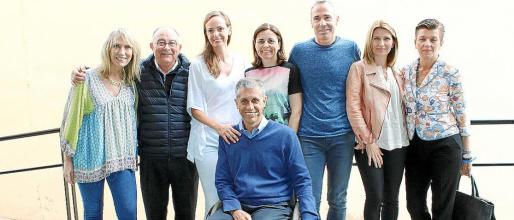 Lina Pons, Tomeu Catalá, Carmen Cordón, Jorge Font, Paula Serra, Álex Corretja, Joana Maria Vives y Carmen Serra.