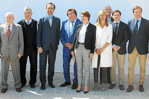 Antonio Borrás del Barrio, Ángel María Villar, José Ramón Bauzá, Miquel Bestard, Margalida Duran, Teresa Palmer, Damián Vich, Jesús Valls y Mateo Isern.
