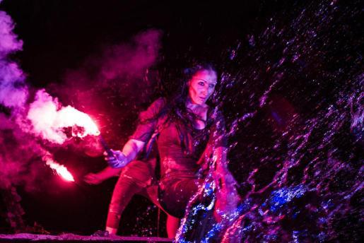'Esencia, aire, fuego, tierra y aire' de Camaleón Teatro fue espectacular.