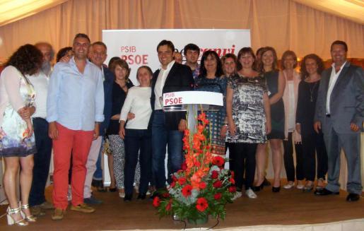 Los socialistas han presentado a su candidata a la alcaldía de Algaida.