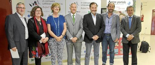 Tomeu Marqués, Catalina Cirer, Esperança Català, Rafael Barea, Koldo Alonso, Antonio Fernández-Coca y Joan Arbós.