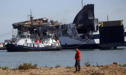 La llegada del Sorrento a aguas valencianas estuvo envuelto de polémica.