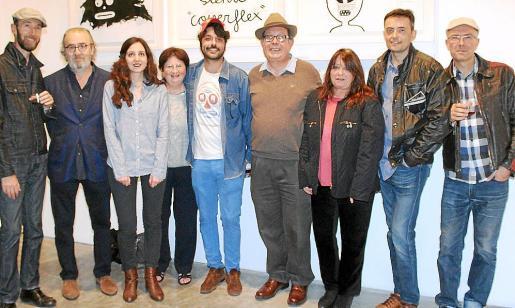 Ángel Gener, Ramon Canet, Margalida Terron, Paula Puig, Albert Pinya, Àngel Terron, María Carbonero, Simón Seguí y Guillem Cortés.