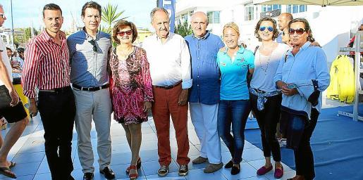 Javier Morente, Fernando Gilet, María José Guerrero, Javier Sanz, Suso Díaz, Encarna Mato, Emma López y Carmen Mariano.