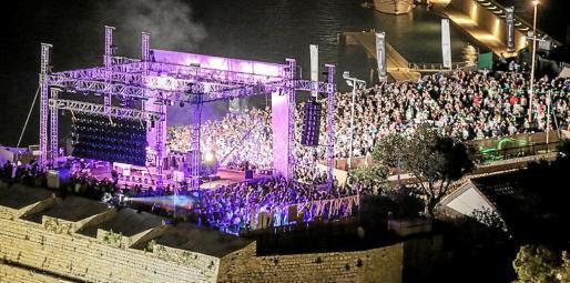 Las actuaciones que se celebran en Dalt Vila, Patrimonio de la Humanidad, son la guinda del pastel del IMS.