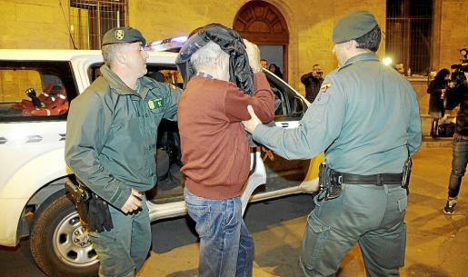 Uno de los detenidos en el caso de corrupción policial en la Platja de Palma.