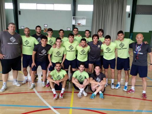 Imagen del equipo del Palma Futsal.