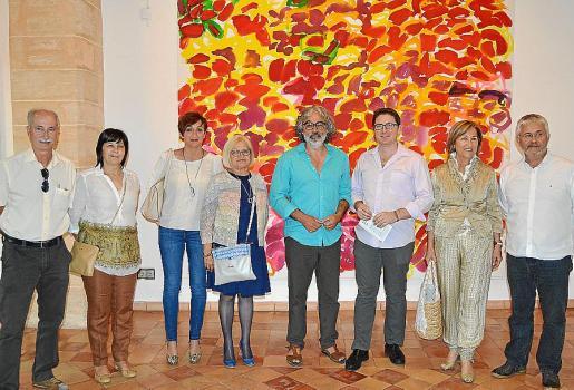 Paco Blasco, Maria Coloma Martorell, Francesca Sureda, Maria Obrador, Jaume Prohens, Guillem Ginard, Inés Nicolau y Sebastià Sureda.