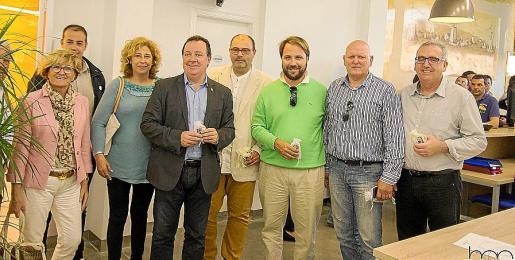 Malén Cantarellas, Toni Aguilar, Marga Horrach, Rafel Torres, Joan Sastre, Felip Jerez, Toni y Felix Sánchez.