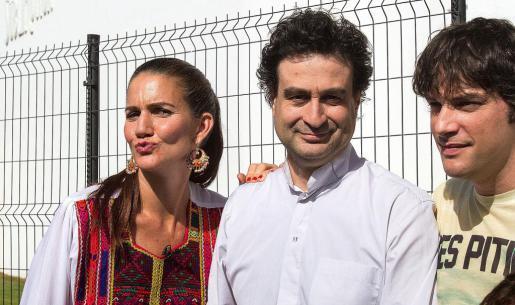 Los tres cocineros derrocharon simpatía en Eivissa.
