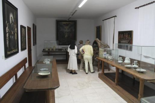Vista parcial del museo del convento de las monjas jerónimas de Inca, que se abre los últimos jueves de mes por la mañana.