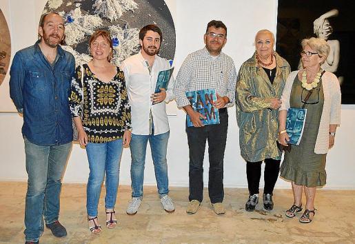 Xisco Bonnin, Marta Font, Llorenç Perelló, Joan Simonet, María José Corominas y Monique Amy Girard.