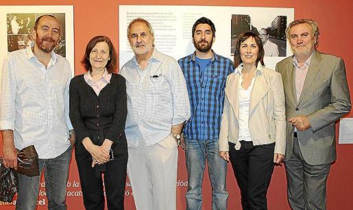 Xisco Bonnín, Catalina Sureda, Pedro Bonet, Tomeu Cañellas, Francisca Niell y Biel Amer.