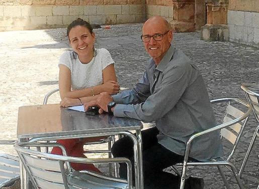 Los ediles electos del PI en Llucmajor, Maria Antònia Gil Clar y Bernardí Vives.