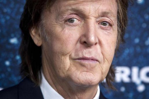 El cantante y compositor excomponente de The Beatles, McCartney.