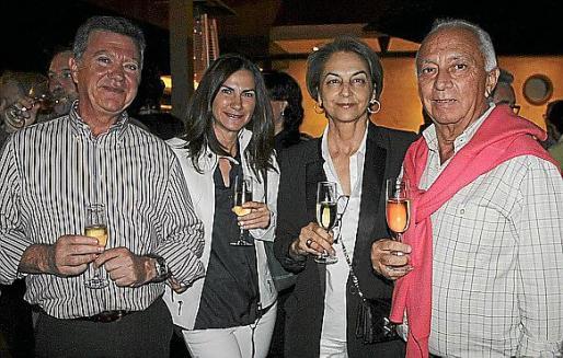 Joan Ramis, Maria Vidal, Ana María Jiménez y Frank Schot.