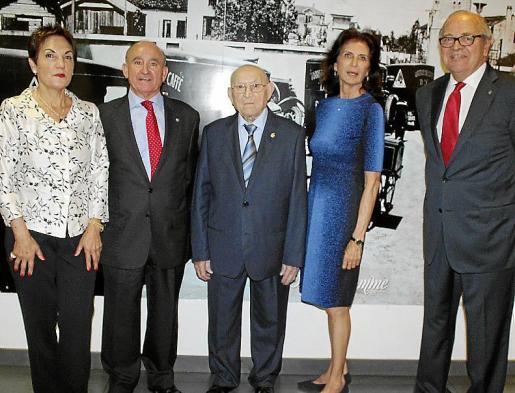 Montserrat Torre, Francisco Martorell, Antoni Fontanet, Carmen Planas y Miquel Bordoy.