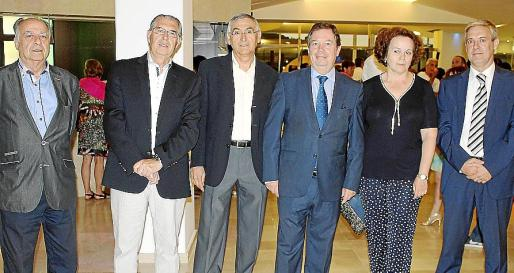 Alfonso Ruiz-Abellán, Antonio Comas, Ignacio Palomo, Francisco Gómez Ferreiro, Paloma Motilva y Felipe Pérez.