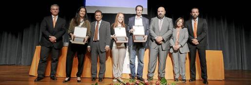 Juanjo Galmés, Maria Neus Camí Alfaro, Llorenç Huguet, Blanca Noguera, Alberto Burgos, Jaime Martínez, Laura Oliver y José Luis Mateo.