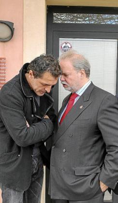Miquel Àngel Nadal y Utz Claassen, en Son Bibiloni.
