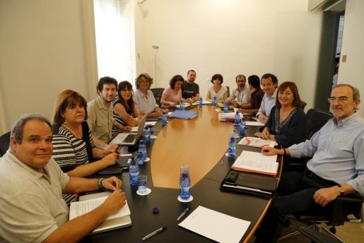 Imagen del inicio de la reunión.