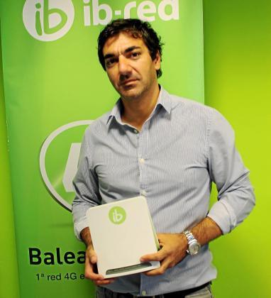 Alberto Navarro, fundador, CEO y director general de Ib-red.