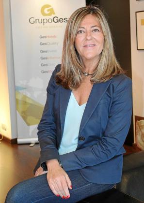 Carmen Tudela es la directora general de GesHotels, la división para hoteles de GrupoGes.