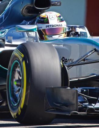 El británico Lewis Hamilton, durante la sesión de clasificación del Gran Premio de Canadá.