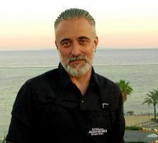 Sergi Arola, ayer en la azotea del hotel Aguas de Ibiza.