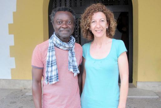 Guillem Balboa (MÉS) y Aina Munar (PSIB).