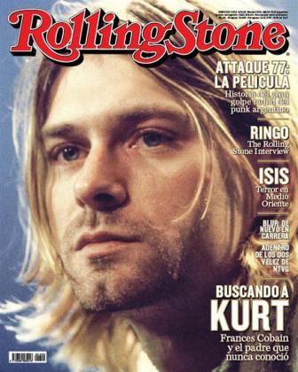 Portada de Rolling Stone.