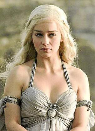 Emilia Clarke, caracterizada como Khaleesi en 'Juego de Tronos'.