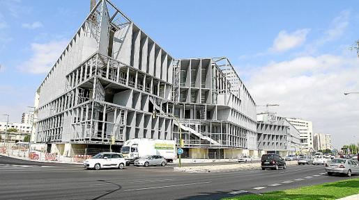Las obras del Palacio de Congresos continúan.