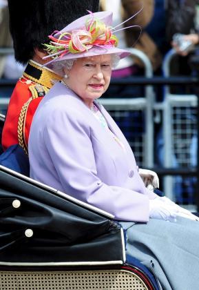 La reina Isabel II.