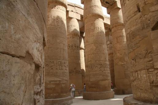 Imagen de archivo del templo Karnak, en Luxor.