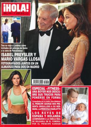 Isabel Preysler y Mario Vargas Llosa, muy amigos.