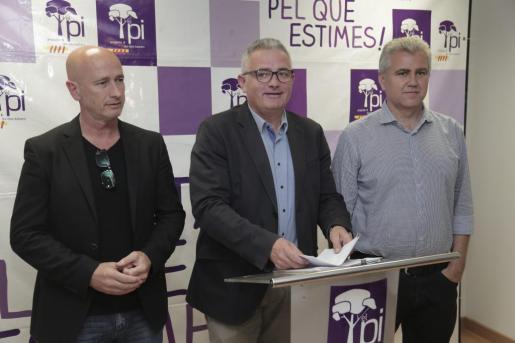 Antoni Pastor, Jaume Font y Josep Melià.