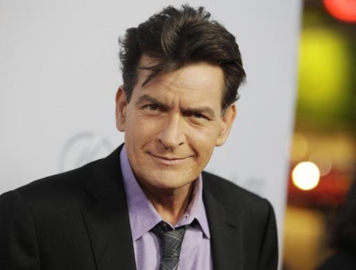 El actor estadounidense Charlie Sheen.