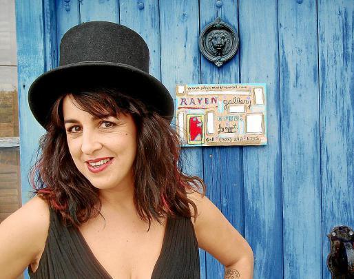 La cantante Amparo Sánchez, conocida como Amparanoia.