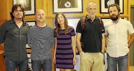 Fernando Gómez de la Cuesta, Dani Cardona, Clara Sanchís, Javier Vallhonrat y Miquel Julià.