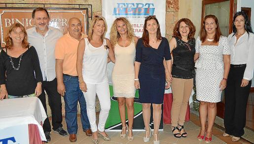 Francisca Caldentey, Bernat Bauzá, Bartomeu Pons, Maria Navas, Jero Ferragut, Marta Hennechart, Carmen Pérez, Marta Gallardo y Ana Tejada.
