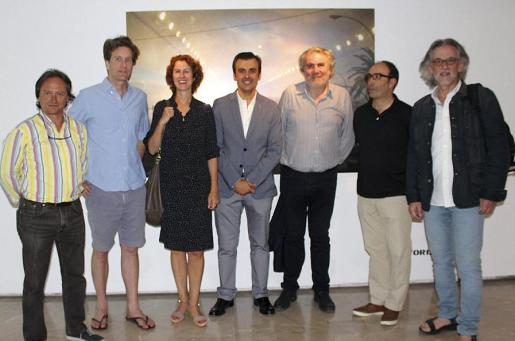 Joan Gabriel Valls, Nicholas Woods, Eva Mulet, Antoni Vera, Pere Amer, Joan Oliver y Pepe Cañabate.