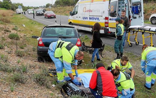 La carretera Llucmajor-Campos es una de las vías que mayor índice de siniestralidad registra en Mallorca.