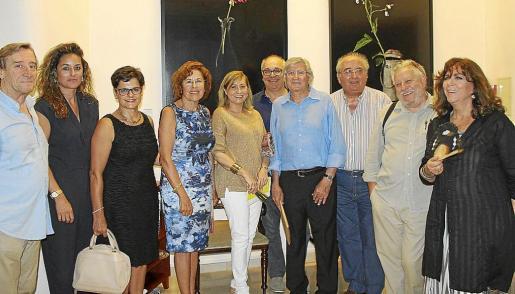 Toni Pomar, Rosa Vanrell, Laura Halcón, Juanita Pons, Gudi Moragues, Joan Sastre, Joan Ramon Bonet, Gabriel Vanrell, Horacio Sapere y Maria del Mar Bonet.