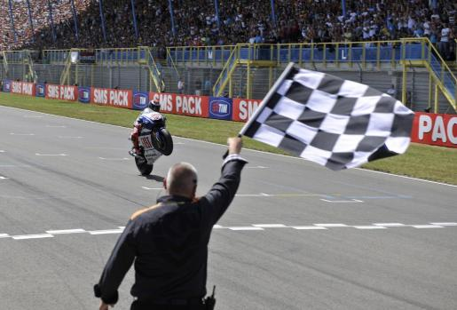 Lorenzo ya ha sido triunfador del Gran Premio de Holanda.