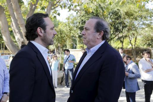 José Ramón Bauzá junto a José María Rodríguez.